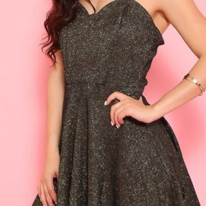 NWT Wow Couture Sweetheart Aline Dress